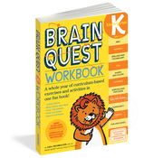 Workman Publishing Brain Quest Kindergarten Workbook