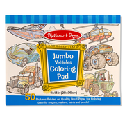 Melissa & Doug Melissa & Doug Jumbo Vehicles Coloring Pad