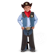 Melissa & Doug Melissa & Doug Role Play Cowboy Dress Up