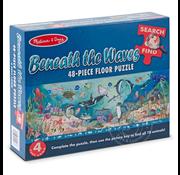 Melissa & Doug Melissa & Doug Beneath the Waves Search & Find Floor Puzzle 48pcs
