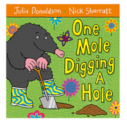 Macmillan Publisher One Mole Digging a Hole