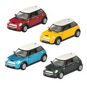 Schylling Pull Back Die Cast Mini Cooper