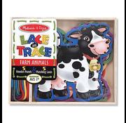 Melissa & Doug Melissa & Doug Lace and Trace Farm Animals