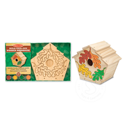 Melissa & Doug Melissa & Doug Build Your Own Wooden Birdhouse