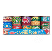 Melissa & Doug Melissa & Doug My Pantry Canned Food Play Food