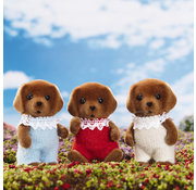 Calico Critters Calico Critters Chocolate Labrador Triplets