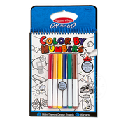 Melissa & Doug Melissa & Doug On the Go Color By Numbers Blue