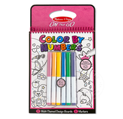 Melissa & Doug Melissa & Doug On the Go Color By Numbers Pink