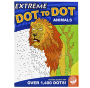 MindWare MindWare Extreme Dot to Dot Animals