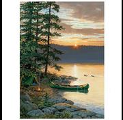 Cobble Hill Puzzles Cobble Hill Canoe Lake Puzzle 500pcs