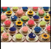 Cobble Hill Puzzles Cobble Hill Cupcakes and Saucers Puzzle 1000pcs