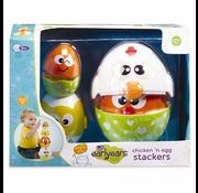 Kidoozie Kidoozie Chicken & Egg Stackers