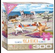 Eurographics Eurographics Yoga Beach XL Family Puzzle 300pcs