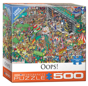 Eurographics Eurographics Oops! Large Pieces Family Puzzle 500pcs