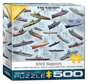 Eurographics Eurographics WWII Warships Large Pieces Family Puzzle 500pcs