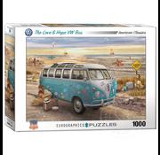 Eurographics Eurographics The Love & Hope VW Bus Puzzle 1000pcs