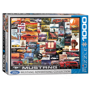 Eurographics Eurographics Ford Mustang Advertising Collection Puzzle 1000pcs
