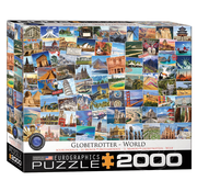 Eurographics Eurographics Globetrotter World Puzzle 2000pcs