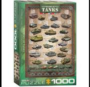 Eurographics Eurographics History of Tanks Puzzle 1000pcs
