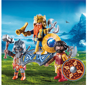 Playmobil Playmobil Dwarf King with Guards RETIRED