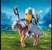 Playmobil Playmobil Dwarf Fighter with Pony RETIRED