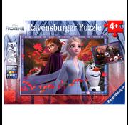 Ravensburger Ravensburger Frozen II Frosty Adventures Puzzle 2 x 24pcs