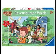 Ravensburger Ravensburger Give a Mouse a Cookie: Mouse's Backyard Puzzle 35pcs _