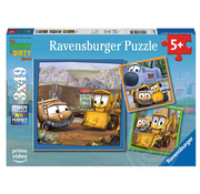 Ravensburger Ravensburger Stinky & Dirty: Buddies Puzzle 3 x 49pcs _