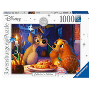 Ravensburger Ravensburger Disney Collector's Edition: Lady and the Tramp Puzzle 1000pcs