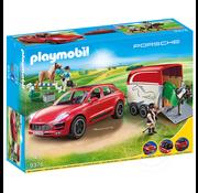 Playmobil Playmobil Porsche Macan with Trailer