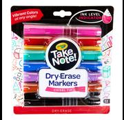 Crayola Crayola Take Note! Dry-Erase Markers Chisel Tip 12 Pack