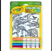 Crayola Color-In Socks Chameleon