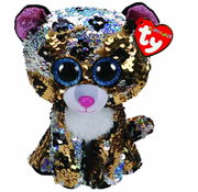 TY TY Beanie Boos Flippables Sequin Sterling Reg