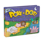 Melissa & Doug Melissa & Doug Poke-A-Dot Book Good Night Animals