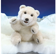 Folkmanis Folkmanis Sitting Polar Bear Puppet