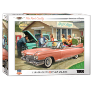 Eurographics Eurographics The Pink Caddy Puzzle 1000pcs