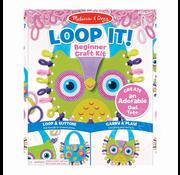 Melissa & Doug Melissa & Doug Loop It! Beginner Craft Kit - Owl Tote RETIRED