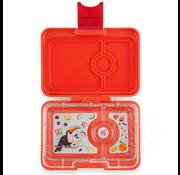 Yumbox YumBox Mini Snack 3 Compartment - Saffron Orange