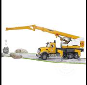 Bruder Bruder MACK Granite Liebherr Crane Truck