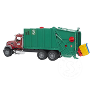 Bruder Bruder MACK Granite Garbage Truck (ruby red-green)
