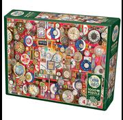 Cobble Hill Puzzles Cobble Hill Timepieces Puzzle 1000pcs
