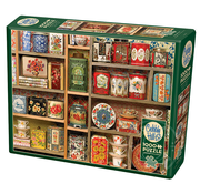 Cobble Hill Puzzles Cobble Hill Vintage Tins Puzzle 1000pcs