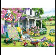 Cobble Hill Puzzles Cobble Hill Spring Cleaning Puzzle 500pcs