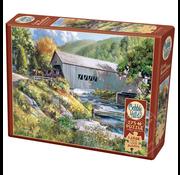 Cobble Hill Puzzles Cobble Hill Covered Bridge Easy Handling Puzzle 275pcs