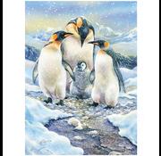 Cobble Hill Puzzles Cobble Hill Penguin Family Family Puzzle 350pcs