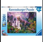Ravensburger Ravensburger King of the Dinosaurs Puzzle 200pcs XXL