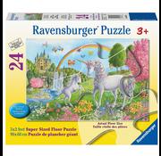 Ravensburger Ravensburger Prancing Unicorns Floor Puzzle 24pcs