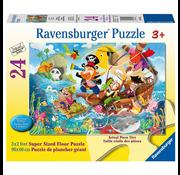 Ravensburger Ravensburger Land Ahoy! Floor Puzzle 24pcs