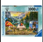 Ravensburger Ravensburger Calm Campsite Puzzle 1000pcs