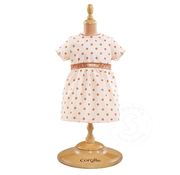"""Corolle Corolle Mon Classique Pink Gold Dress 14-15"""" Doll Outfit"""